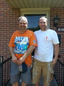 John Hendricks and Kyle Pickel