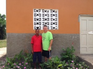 Steve with Pastor Abner Joly (Director of Orphanage)