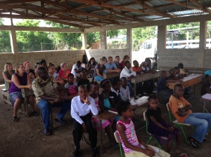 Sunday am worship with children at house of hope orphanage