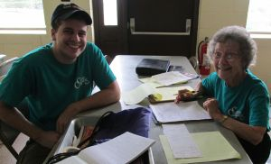 Tim Kachel faithfully serves at Camp Conquest each summer.