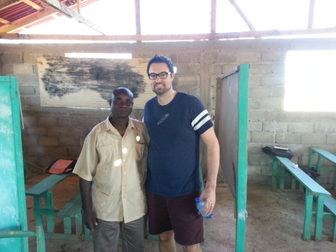 Pastor Doug and Pastor Cadet from the Bode-de-Mer Church, January, 2014